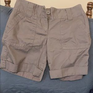 Dark olive/ brown women's shorts
